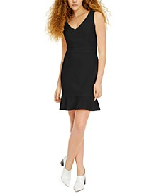 Flounce-Hem Sheath Dress, Created for Macy's