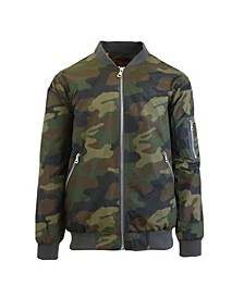 Men's MA-1 Lightweight Bomber Flight Jacket