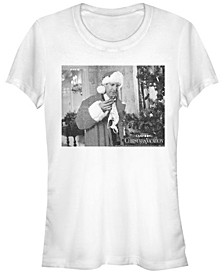 National Lampoon's Christmas Vacation Lingerie Clark Portrait Women's Short Sleeve T-Shirt