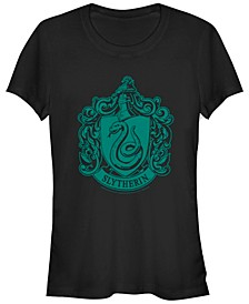 Harry Potter Simple Slytherin Crest Women's Short Sleeve T-Shirt