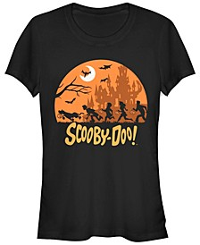 Scooby-Doo Halloween Scene Women's Short Sleeve T-Shirt
