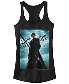 Harry Potter Ron Quidditch Poster Women's Racerback Tank