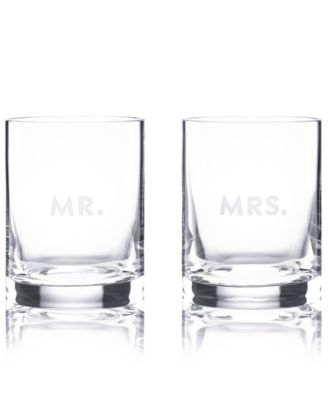 Set of 2 Darling Point Double Old-Fashioned Glasses