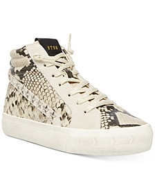 Women's Qualify Lace-Up High-Top Sneakers