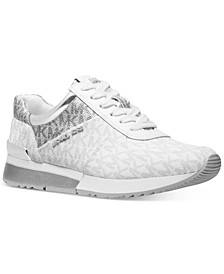 Allie Trainer Signature Logo Sneakers