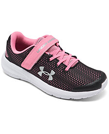 Under Armour Little Girls' Pursuit 2 Stay-Put Closure Running Sneakers from Finish Line