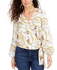 Thalia Sodi Wrap Top, Created for Macy's