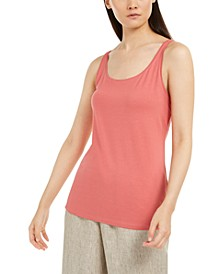 Scoop Neckline Tank Top