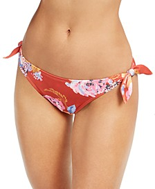 Lilly Printed Side-Tie Bikini Bottoms, Created for Macy's