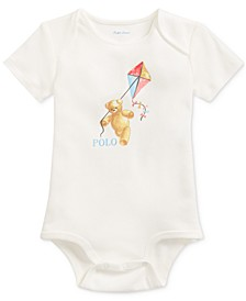 Baby Boys Kite Bear Cotton Bodysuit