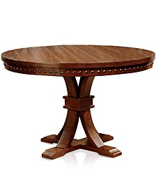 Tackman Solid Wood Round Table