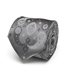 Avengers Paisley Icons Print Men's Tie