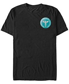 StarTrek MultipleFranchise Men's Starfleet Medical Academy Badge Short Sleeve T-Shirt