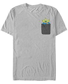 Toy Story Men's Aliens Faux Pocket Short Sleeve T-Shirt