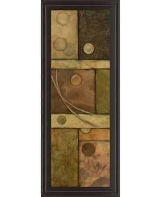 Circle Game I by Norm Olson Framed Print Wall Art - 18