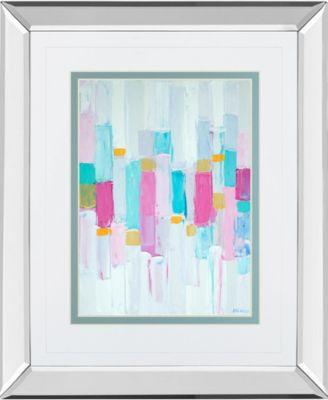 Cool Rhizome I by Ann Marie Coolick Mirror Framed Print Wall Art, 34