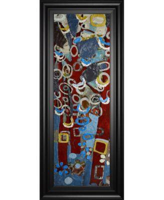 Cut Paper Trees II by Erin McGee Ferrell Framed Print Wall Art, 18