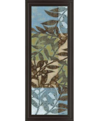 Leaves I Framed Print Wall Art - 18