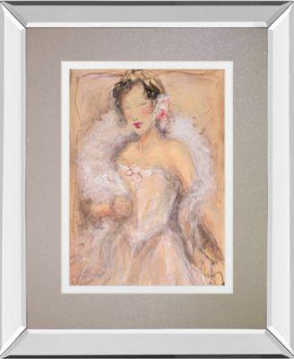 Stole My Heart I by Dupre Mirror Framed Print Wall Art, 34