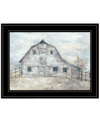 Rustic Beauty by Debi Coules, Ready to hang Framed Print, Black Frame, 19