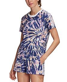 Women's Classic 3-Stripes Tie-Dye T-Shirt