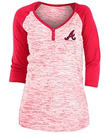 Atlanta Braves Women's Space Dye Raglan Shirt