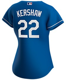 Los Angeles Dodgers Women's Clayton Kershaw Official Player Replica Jersey