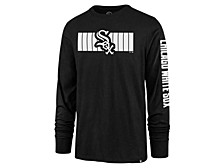 Chicago White Sox Men's Cross Stripe Long Sleeve T-Shirt