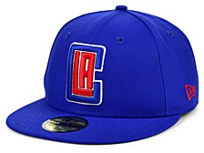 Los Angeles Clippers The Circle Patch 59FIFTY-FITTED Cap