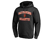 San Francisco Giants Men's Rookie Heart & Soul Hoodie