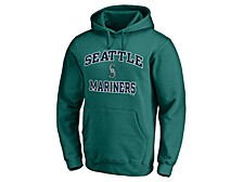 Seattle Mariners Men's Rookie Heart & Soul Hoodie
