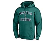 Seattle Mariners Men's Rookie Heart & Soul Hoodie