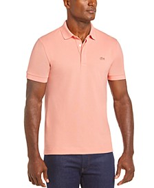 Men's Regular Fit Stretch Cotton Paris Polo Shirt