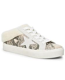 Women's Polaris Faux-Fur Backless Sneakers