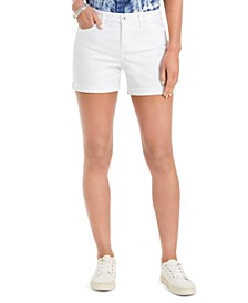 Boyfriend Shorts, Created for Macy's