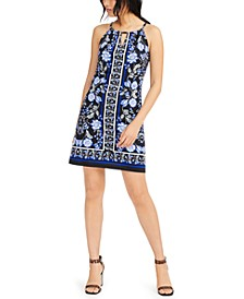 INC Printed Sheath Dress, Created for Macy's
