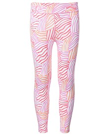 Big Girls Printed Caged Back Leggings, Created for Macy's