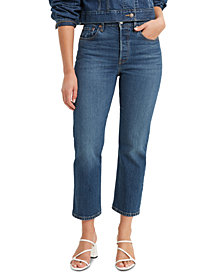 Levi's® 501® Cropped Straight-Leg Jeans