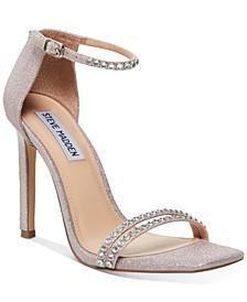 Collette Two-Piece Rhinestone Sandals