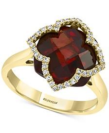 EFFY® Rhodolite Garnet (8-1/10 ct. t.w.) & Diamond (1/5 ct. t.w.) Ring in 14k Gold