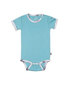 Baby Girls Butterfly Short Sleeve Onesie