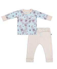 Baby Girls Peacocks Loungewear Set