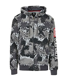 Men's Sponge Camo Zip Up Hoodie