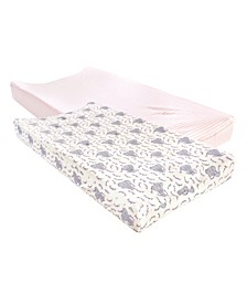 Baby Girls and Boys Girls Elephant Changing Pad Cover