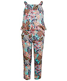 Big Girls 2-Pc. Bold Floral-Print Tank Top & Pants Set, Created for Macy's