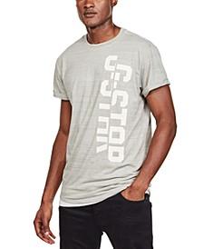 Men's Split Logo Heathered T-Shirt, Created for Macy's