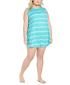 Plus Size Cut Out Back Nightgown, Created for Macy's