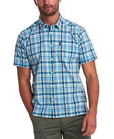 Men's Madras Short Sleeve Shirt
