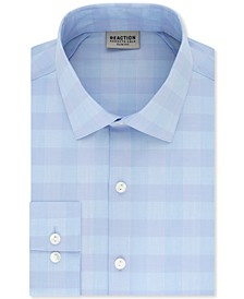 Men's Slim-Fit All-Day Flex Horizon Check Dress Shirt