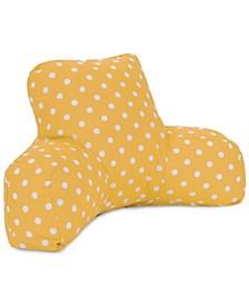 """Ikat Dot Comfortable Soft Reading Pillow 33"""" x 18"""""""